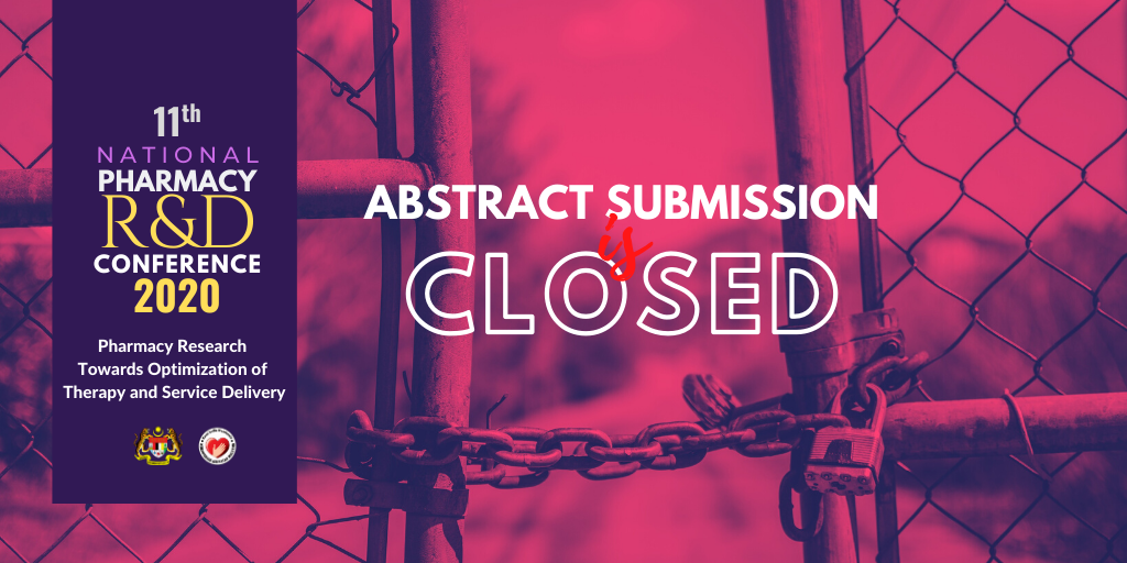 abstract submission has been closed