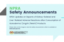 NPRA Safety Announcement - Ganoderma