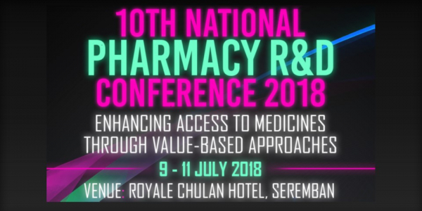 10th National Pharmacy R&D Conference 2018