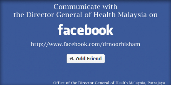 Communicate with DG on Facebook