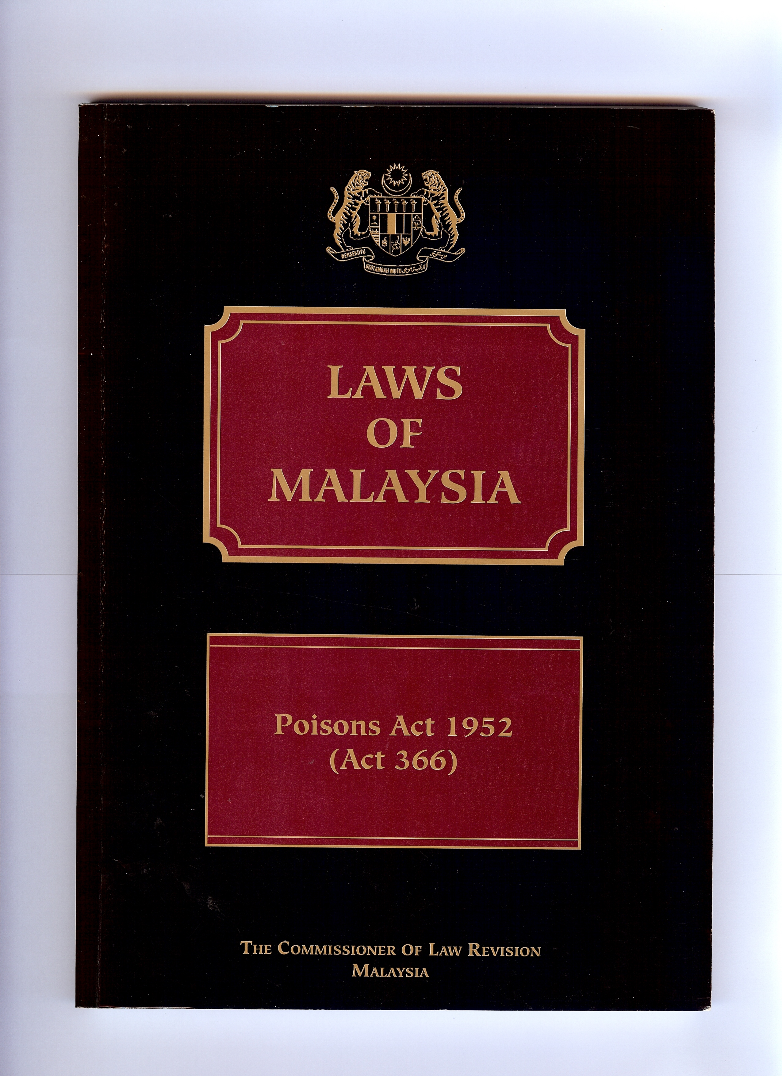 Issuance of Poison Licence Type A/ B/ E / Permit NaOH